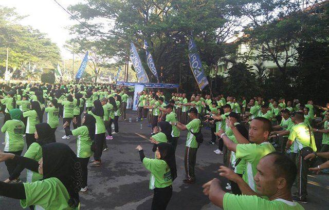 Divif 2/Kostrad Meriahkan Malang Menari, Pecahkan Rekor Muri