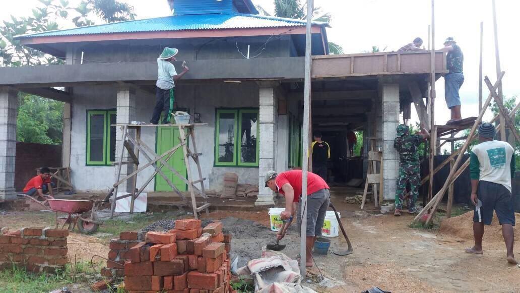 Lewat Renovasi Mushola, TNI-Rakyat Pupuk Semangat Gotong Royong