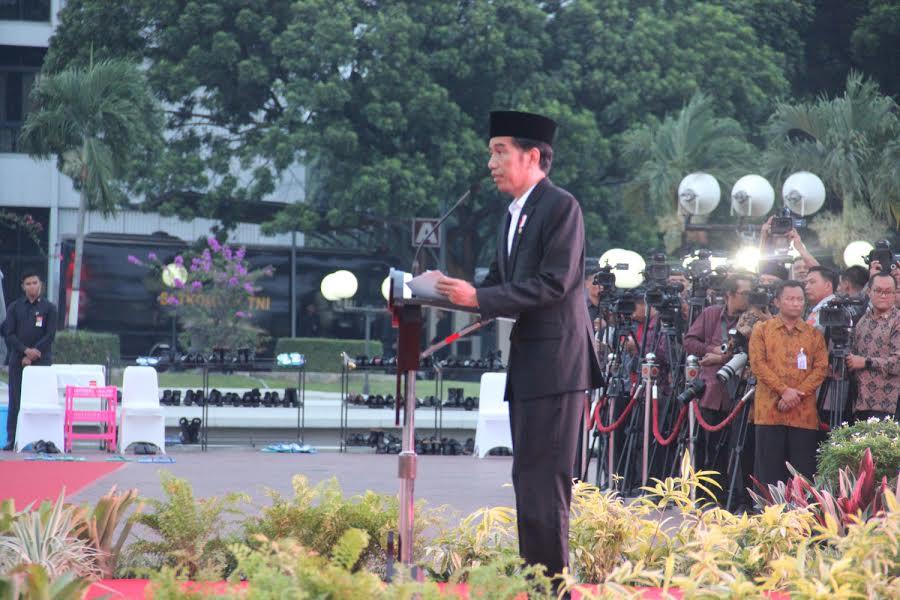 Presiden RI: TNI Harus Menyatu dengan Rakyat