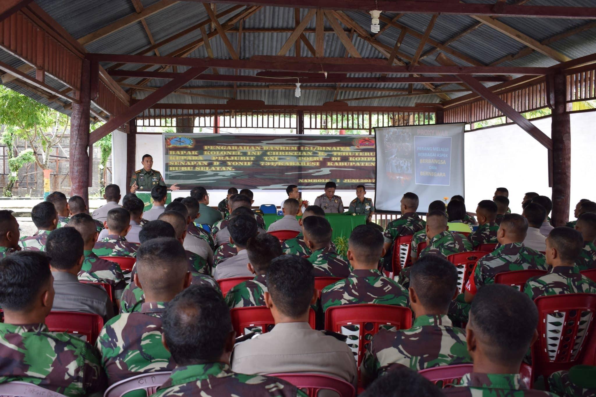 Perkuat Sinergitas TNI-Polri Jaga Keamanan di Wilayah
