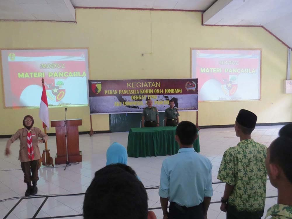 Menarik Minat Generasi Muda, TNI Gelar Pekan Pancasila