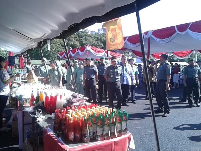 Melalui Bazar, Kedekatan TNI dan Rakyat akan Semakin Kokoh