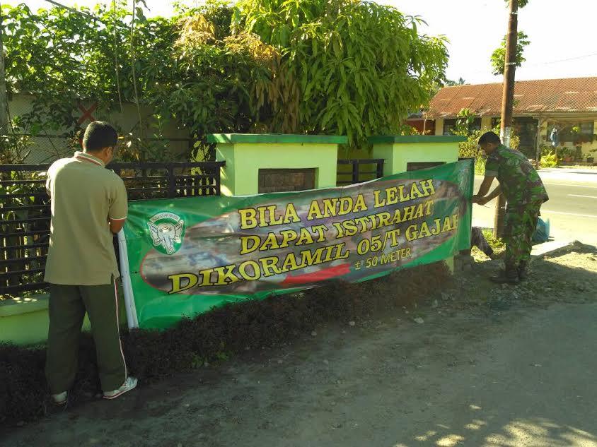 TNI Siapkan Rest Area Bagi Para Pemudik