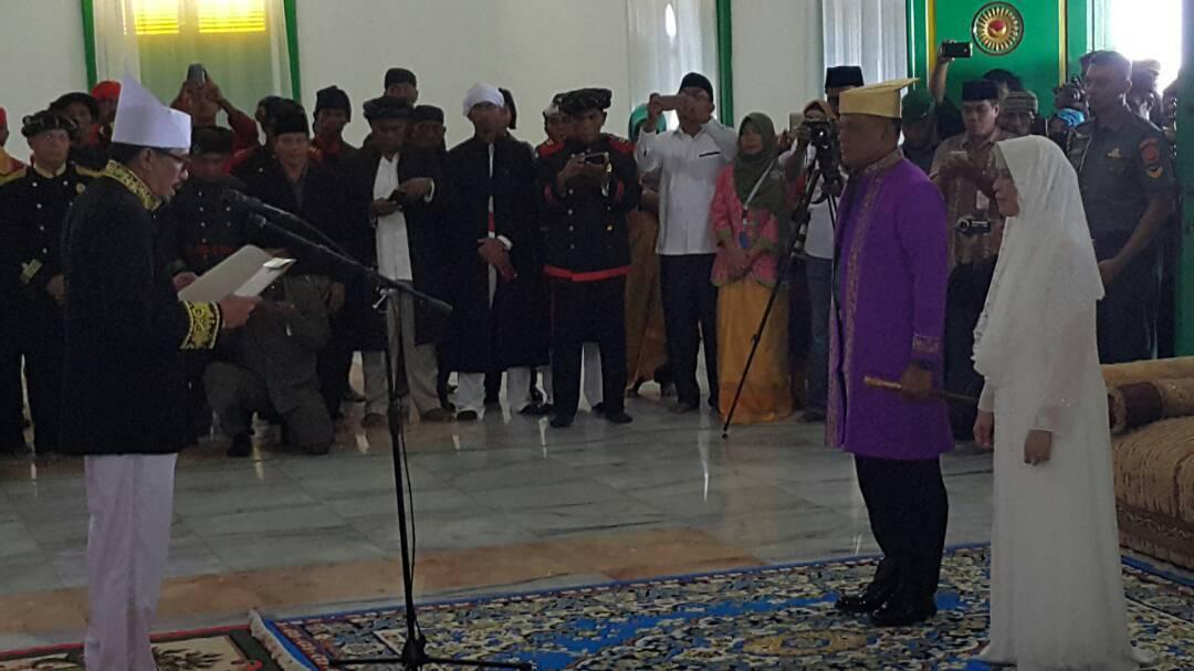 Panglima TNI Terima Gelar Kehormatan Kesultanan Tidore