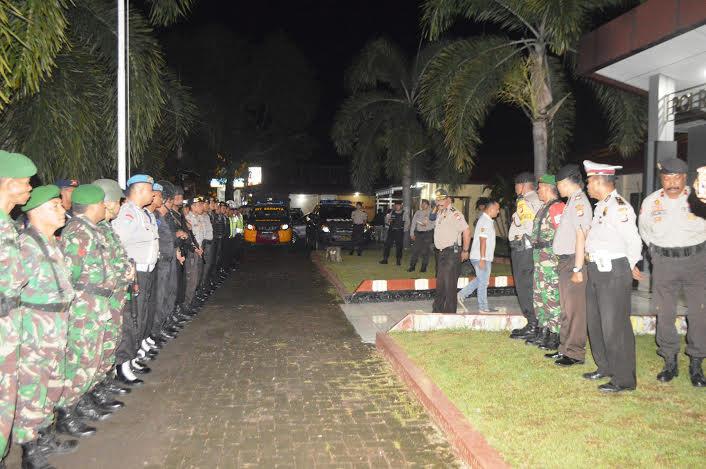 Berikan Rasa Aman dan Kondusif, TNI – Polri Gelar Patroli Gabungan