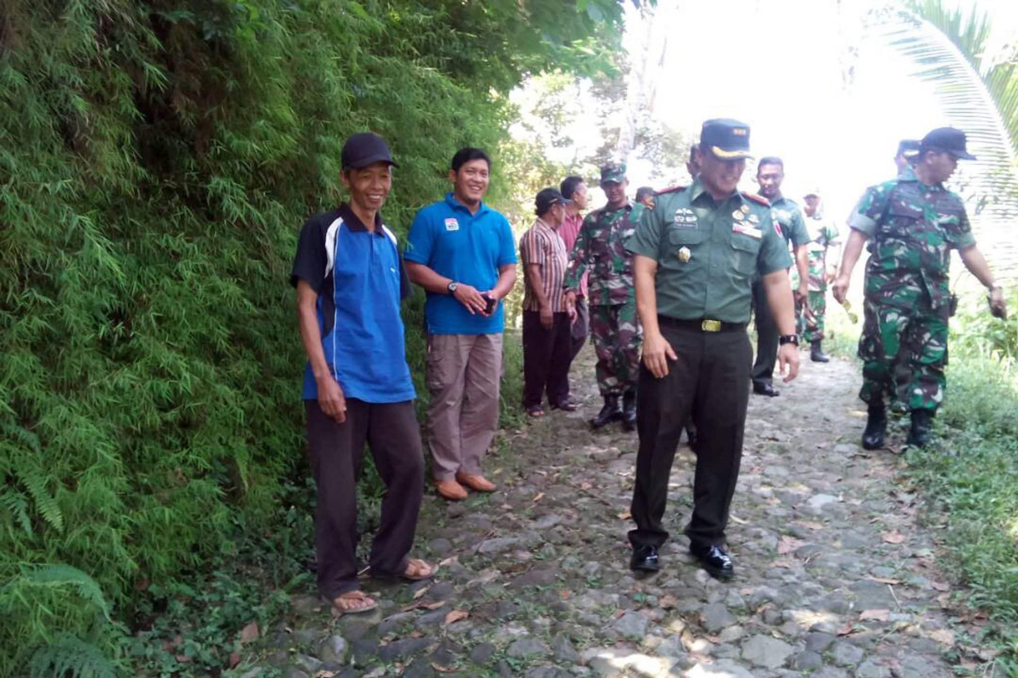 Danrem 081/DSJ Tinjau Rencana TMMD ke-99 di Kecamatan Ngebel