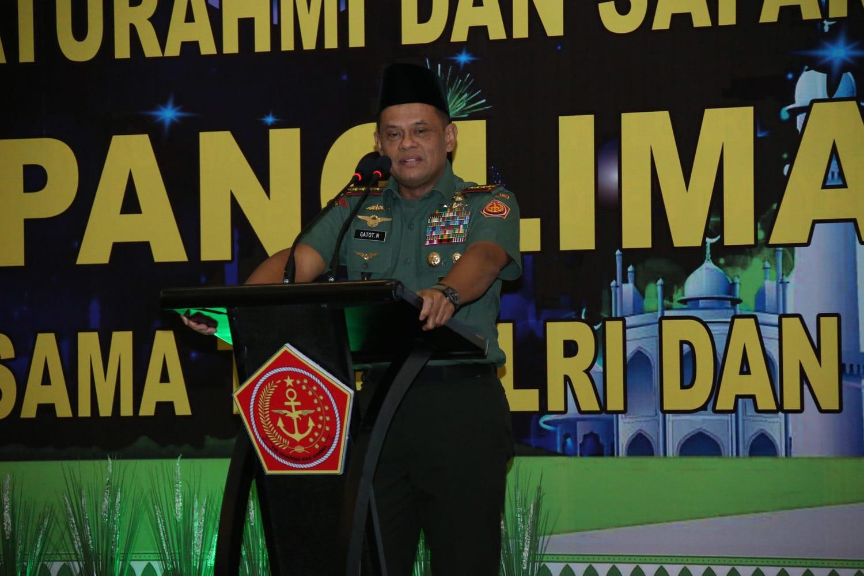 TNI Bersatu Dengan Rakyat Dan Ulama Demi Keselamatan Negara