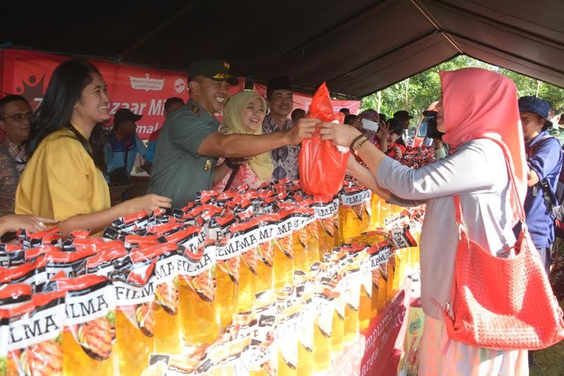 Bazar Murah Meringankan Kebutuhan Keluarga Menghadapi Hari Raya Idul Fitri