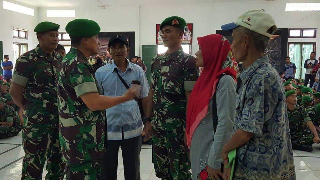 Prajurit TNI Siap Ditugaskan Di Mana Saja Di Wilayah NKRI
