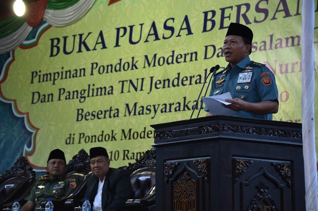 Panglima TNI : Kyai dan Ulama Ikut Berjuang Merebut Kemerdekaan Indonesia
