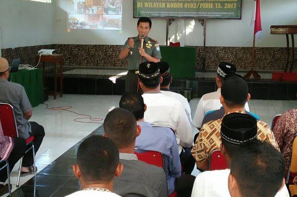 Komunikasi Sosial dengan Komponen Masyarakat, Tingkatkan Kemanunggalan TNI dan Rakyat