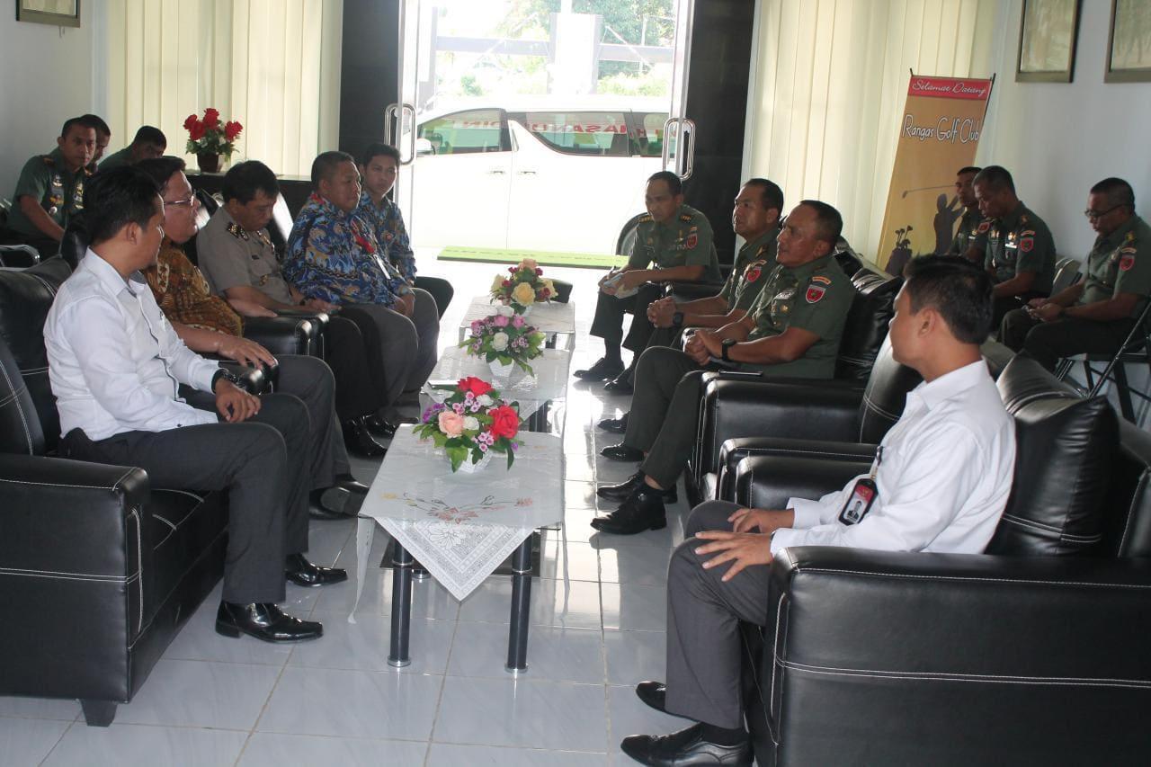 Pangdam XIV/Hsn Terima Tim Ombudsman RI Di Makorem