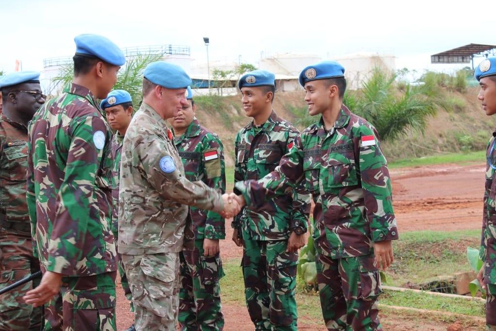 UN Headquarter Apresiasi Pasukan Garuda Di Afrika