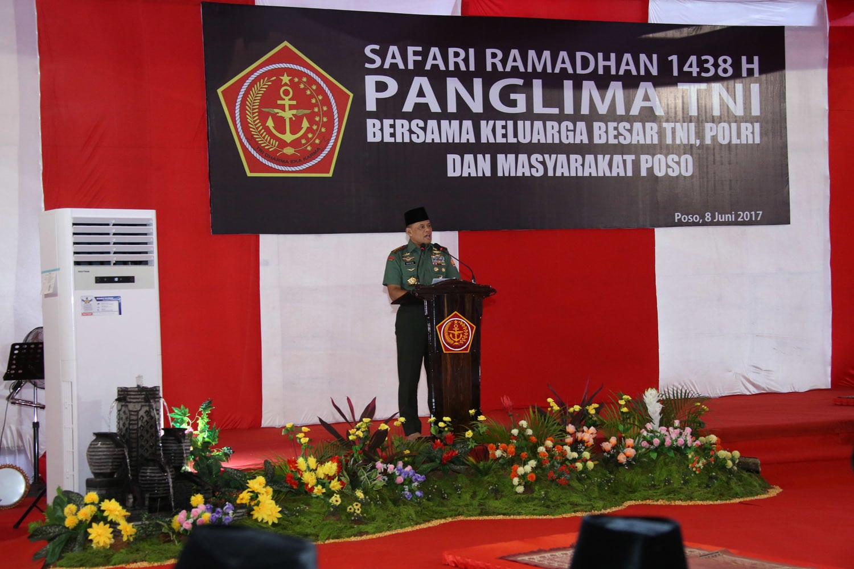 Panglima TNI: Situasi Poso Semakin Hari Semakin Aman
