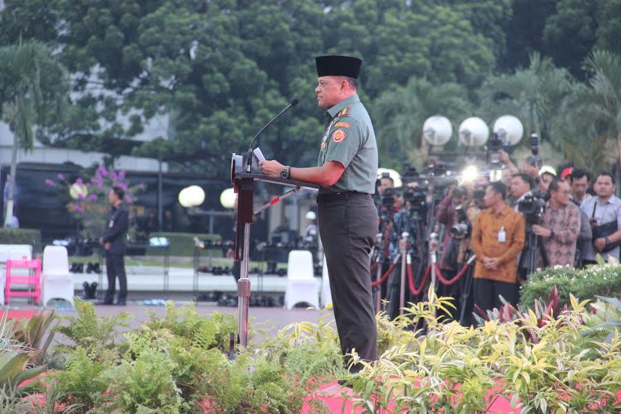 Panglima TNI: TNI Siap Digerakkan dan Tidak Mengenal Kata Gagal