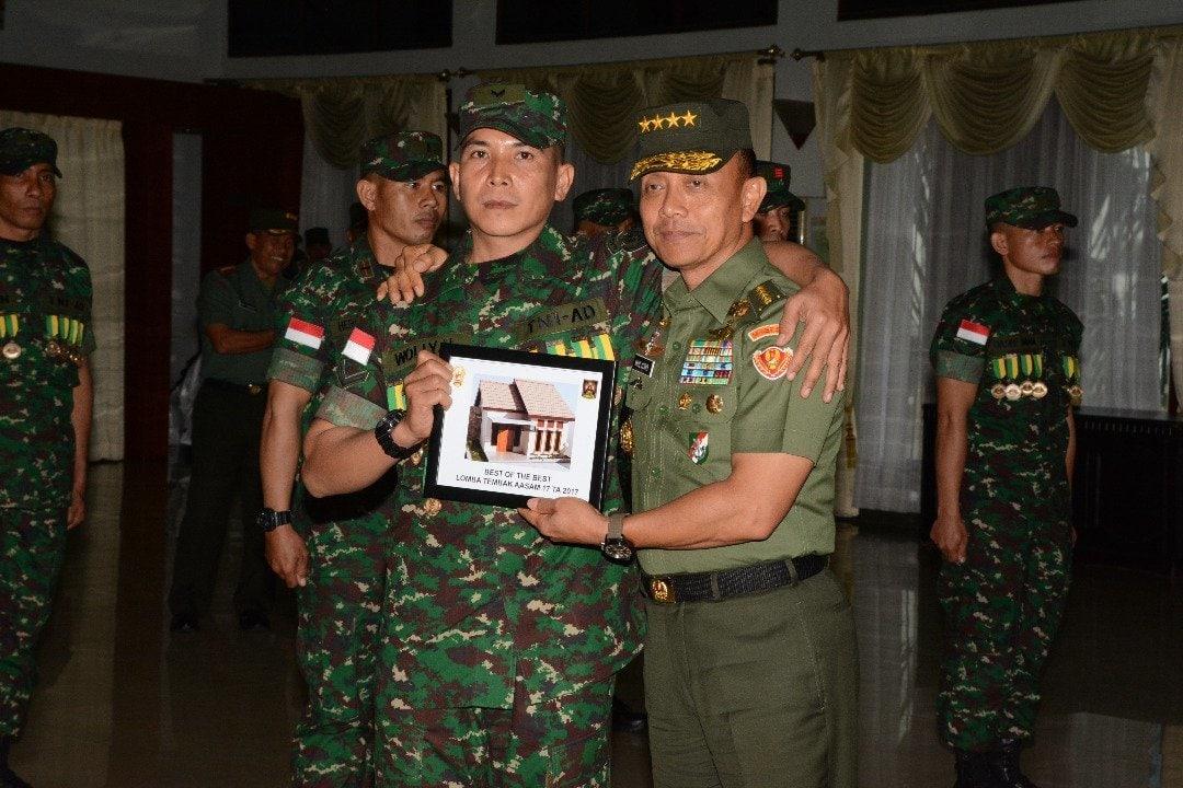TNI AD Juarai Lomba Tembak AASAM 2017