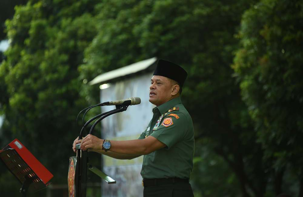 Panglima TNI: TNI Tidak Bisa Dipisahkan Dengan Rakyat