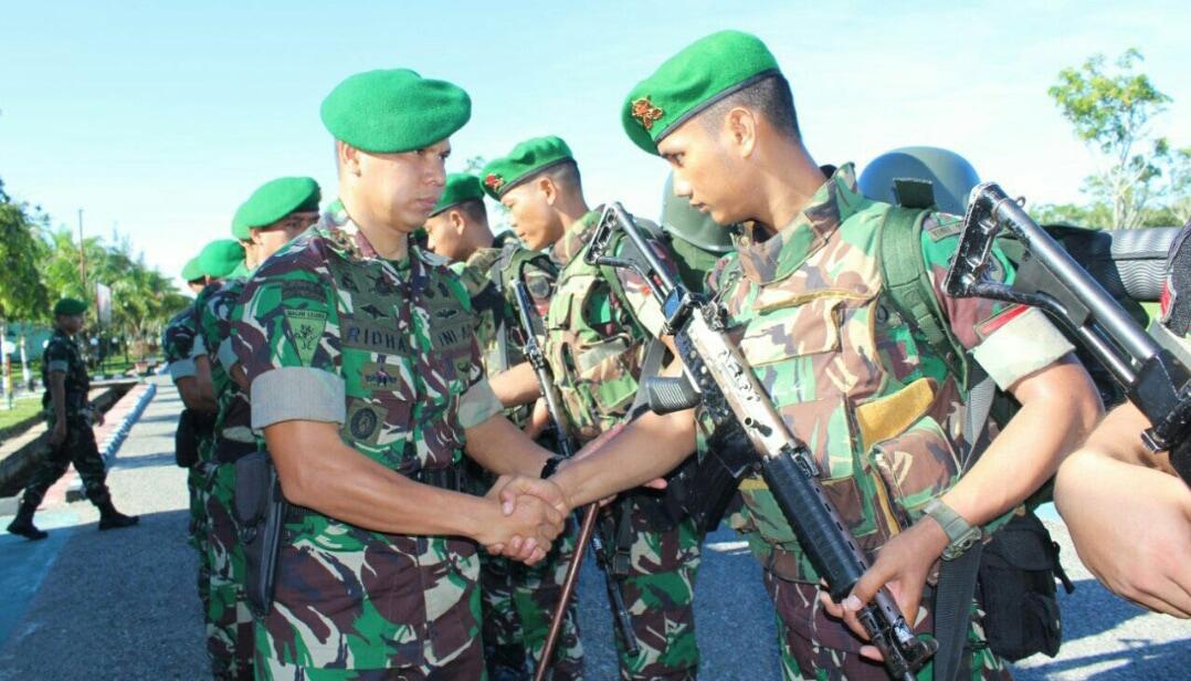 Prajurit Yonif 115/ML Akan Mengamankan Pulau Rondo