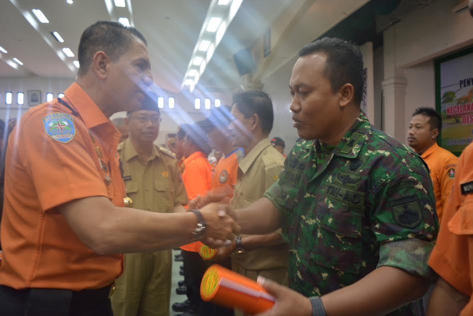 Bantu Evakuasi Helikopter Jatuh, Dandim Wonosobo Terima Penghargaan Basarnas