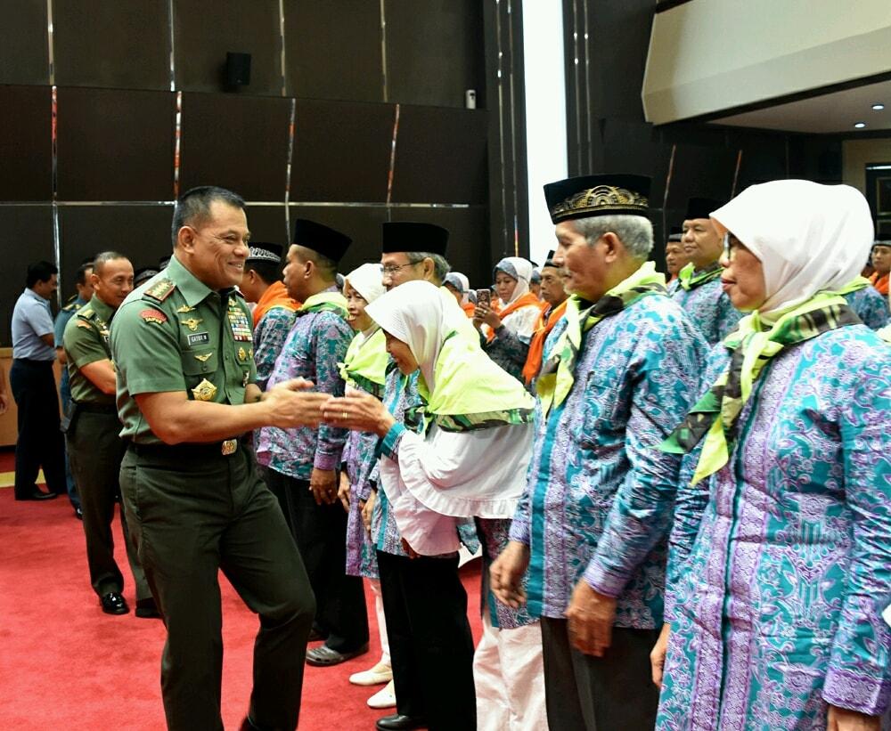 Panglima TNI : Ibadah Haji Anugerah Yang Sangat Luar Biasa