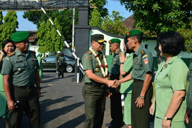 Pangdam IV/Diponegoro : Tekan Pelangaran Prajurit, Disiplin Harus Ditegakkan
