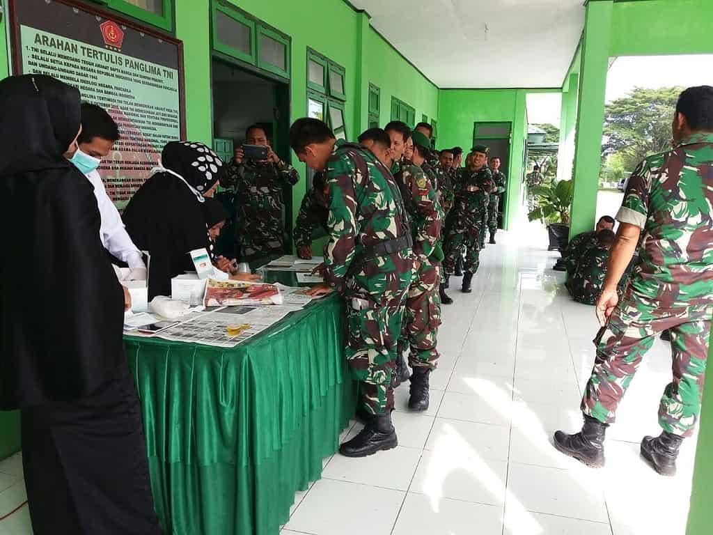 TNI Terus Pukul Genderang Perang Terhadap Narkoba