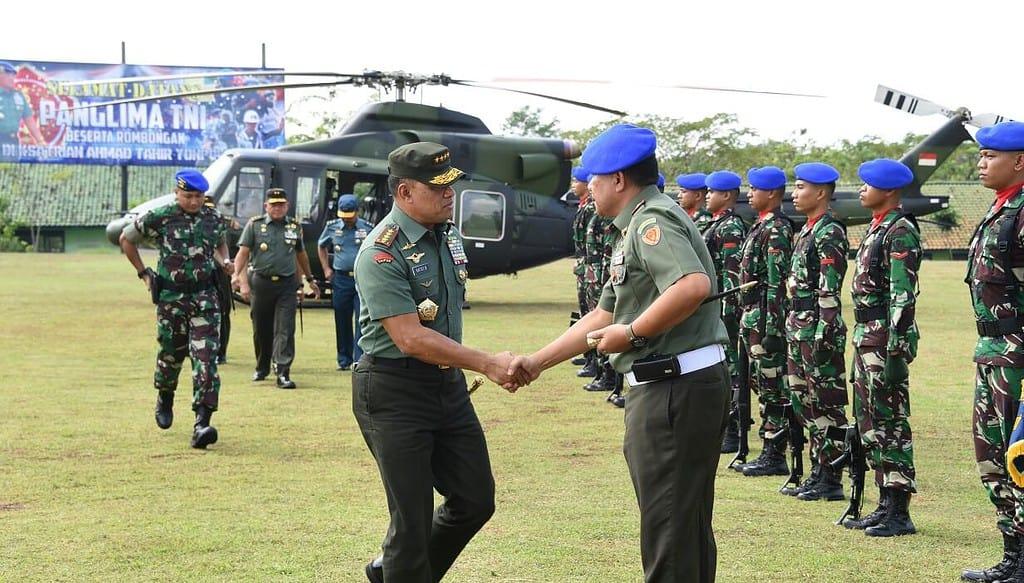 Panglima TNI Apresiasi Satuan Yonpom Puspomad