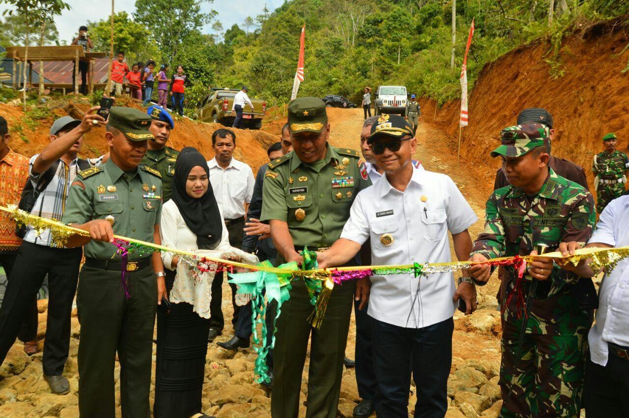 TMMD Meningkatkan Kesejehteraan Masyarakat dan Pembangunan Daerah