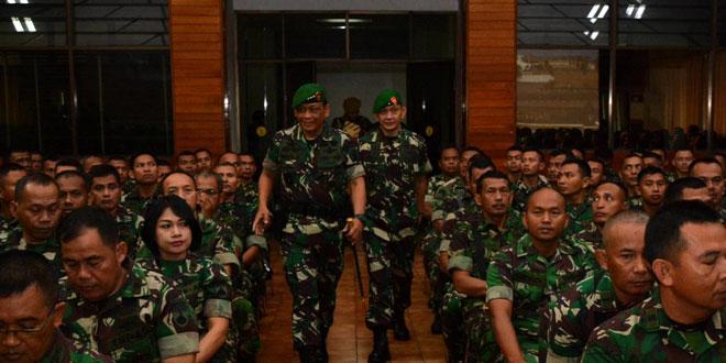 Doktrin TNI AD Merupakan Prinsip Fundamental Bagi Prajurit