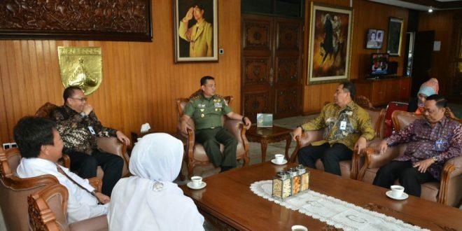 Pererat Kerjasama, Kodam IV/Diponegoro terima Audiesi dari BRI dan PT.PLN