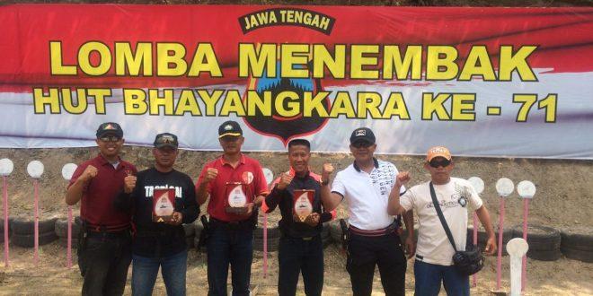 Kodam IV/ Diponegoro Sabet Juara I Dan II Pada Kejuaraan Tembak IPSC