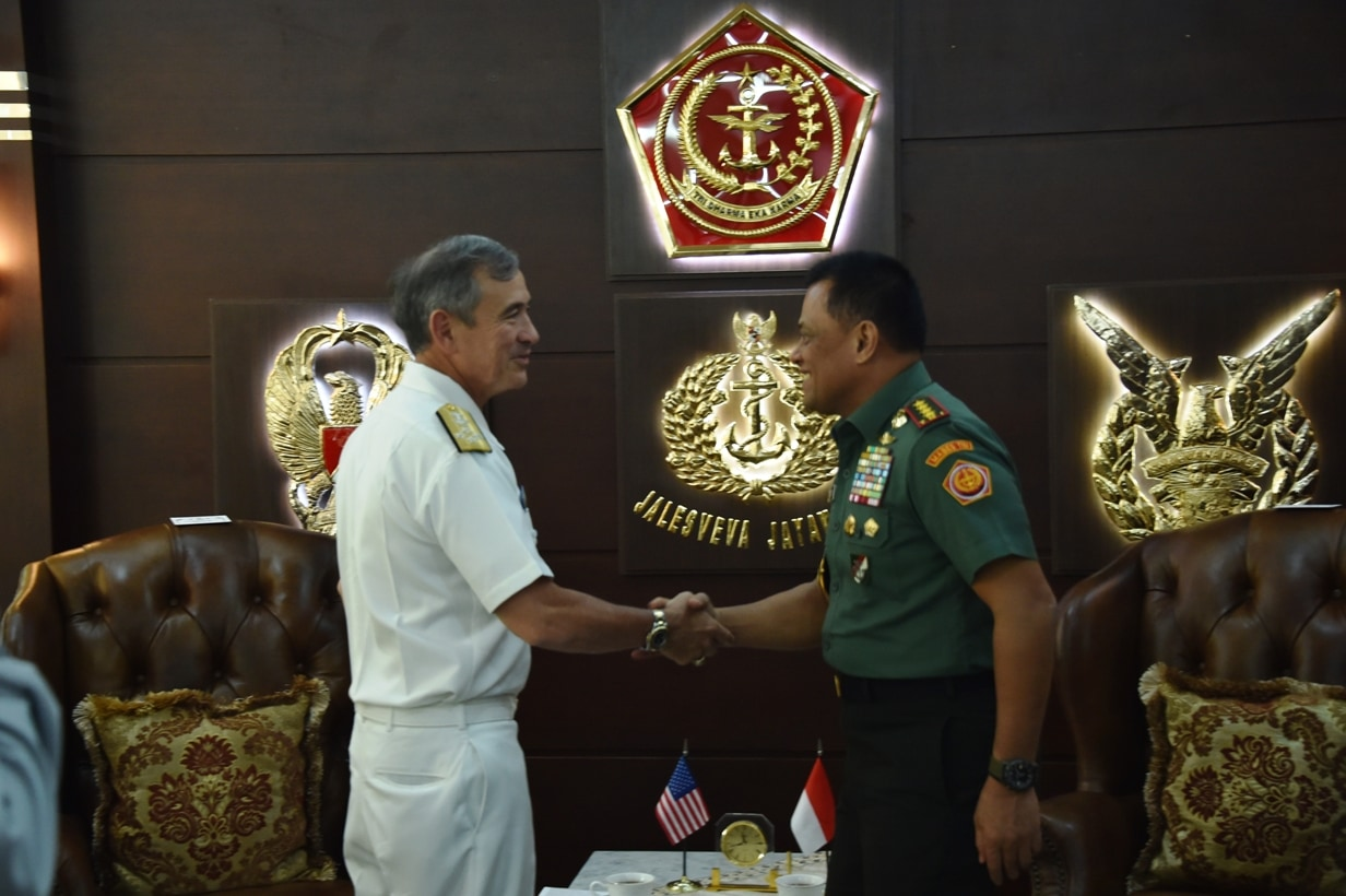 Panglima TNI Terima Kunjungan Panglima USPACOM