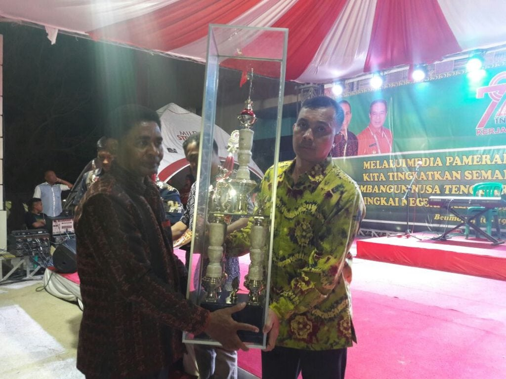 TNI Raih Predikat Terbaik Pada Pameran Dan Pawai Pembangunan Provinsi NTT 2017