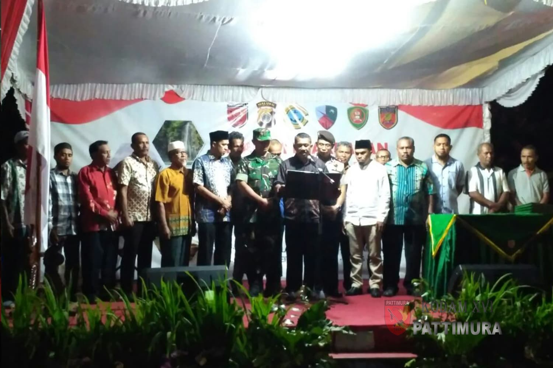 Deklarasi Anti Miras, Momentum Maluku Yang Maju, Hebat Dan Berkualitas