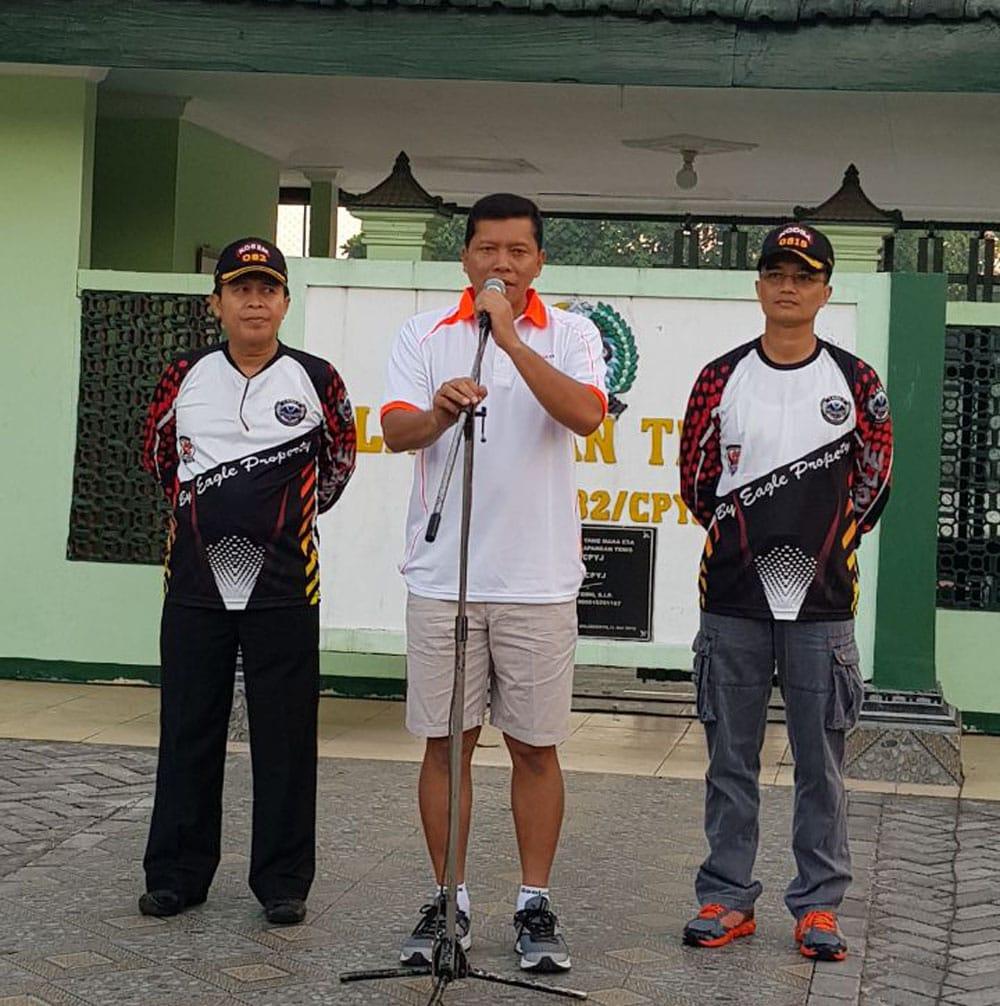 Peduli Sesama, Komunitas Gowes LCC Sumbang Dana Pembangunan PAPP