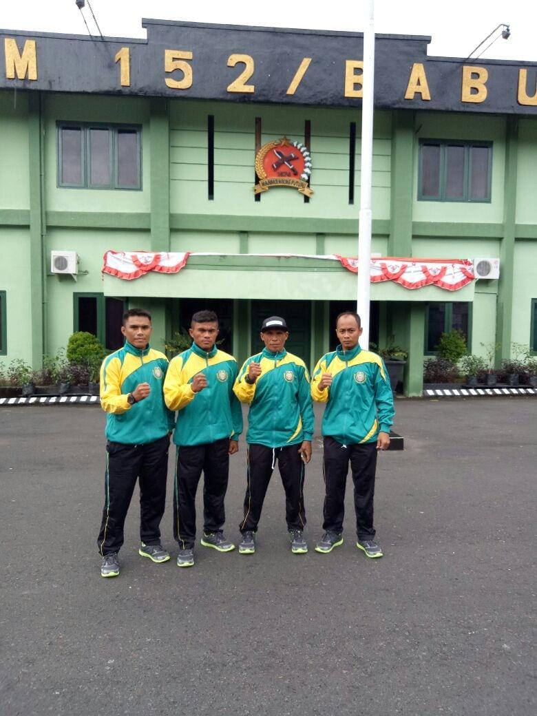 Kontingen Malut Siap Tempur Ikuti Kejuaraan Yong Moodo Kasad Cup