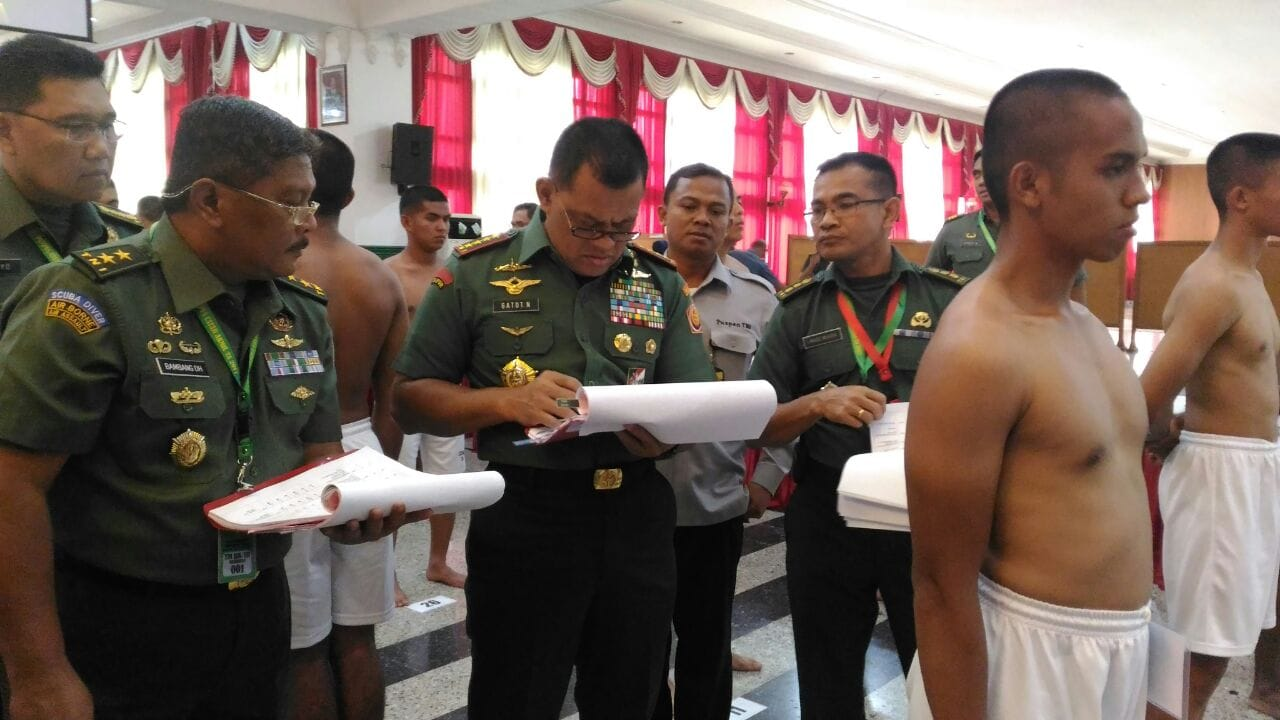 435 Catar Lulus Menjadi Capratar Akademi TNI