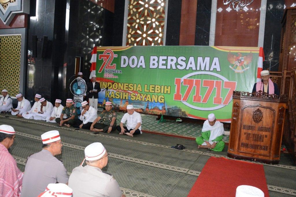 Doa Bersama 17.17.17 Menggelorakan Tradisi Semangat Gotong-royong