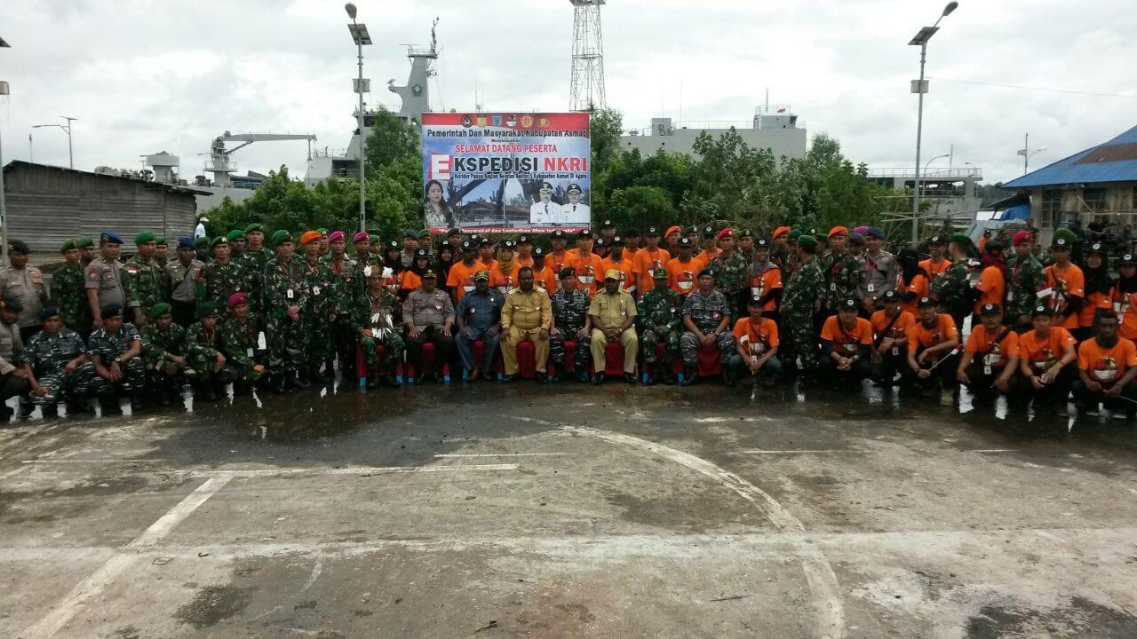 Terima Kasih, Asmat Menjadi Tempat Ekspedisi NKRI 2017