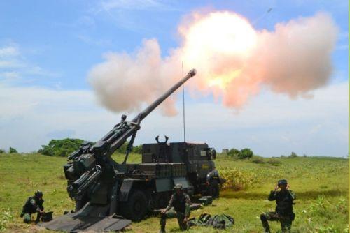 Danpussenarmed Tinjau Kesiapan Satuan Armed Dalam Latihan Ancab Tahun 2017