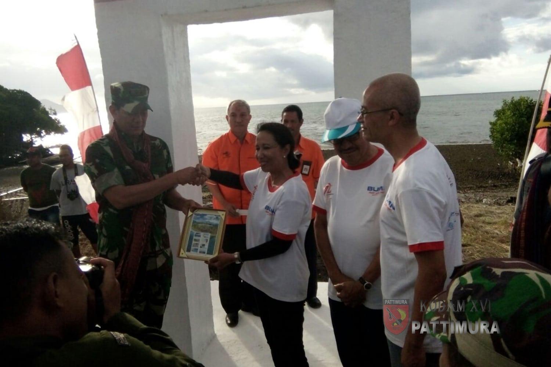 Pangdam Pattimura Dampingi Menteri BUMN Ke Maluku Barat Daya