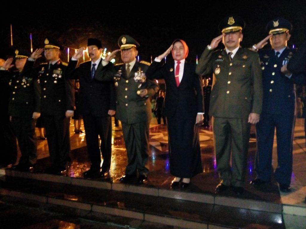 Pangdam I/Bukit Barisan Pimpin Apel Kehormatan Dan Renungan Suci HUT Ke-72 RI