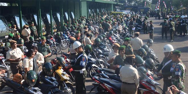 TNI Pelopor Tertib Lalu Lintas