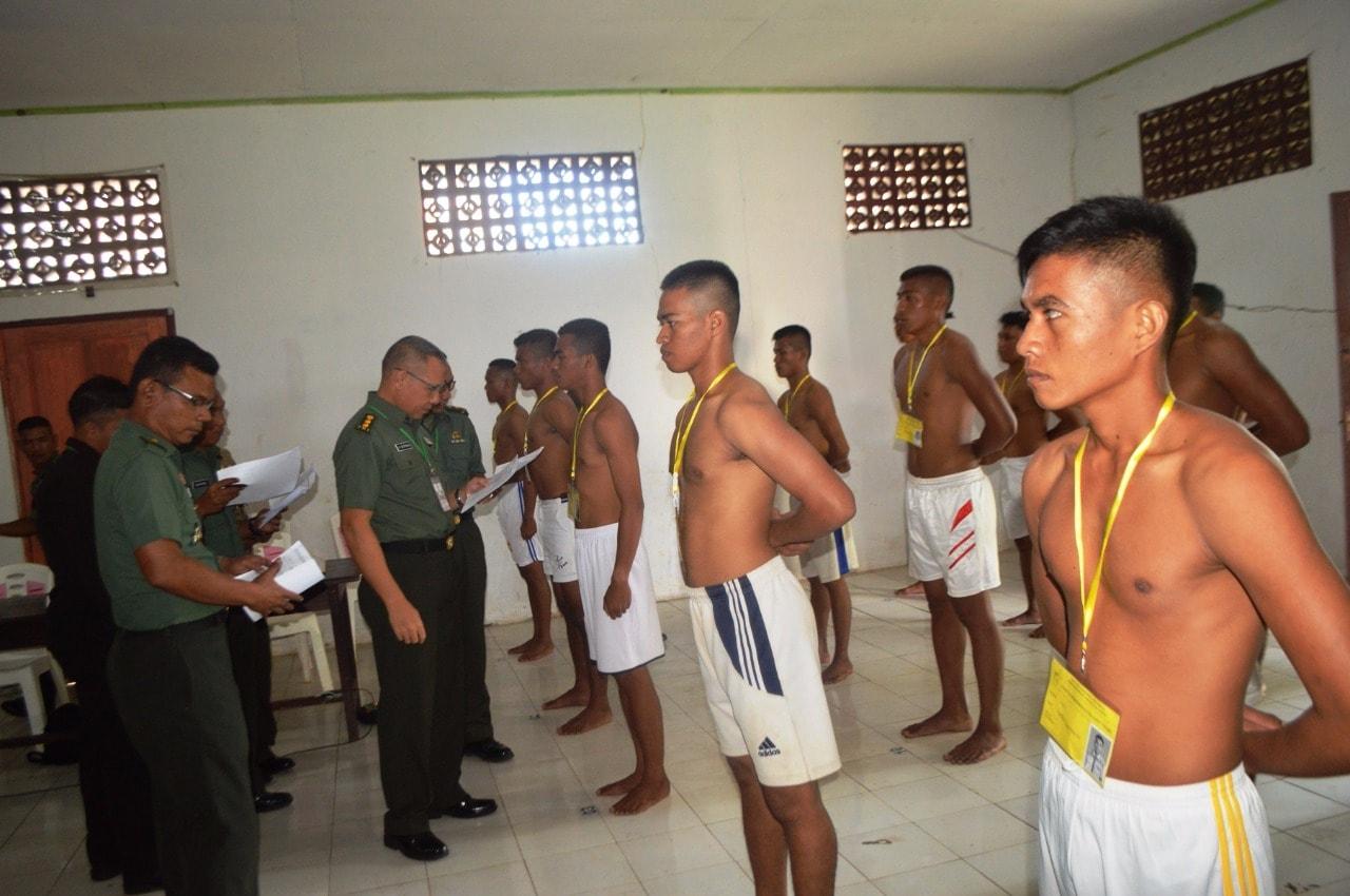 7 Putra Terbaik Morotai Siap Bersaing di Tingkat Panpus Pada Seleksi Secaba PK TNI AD
