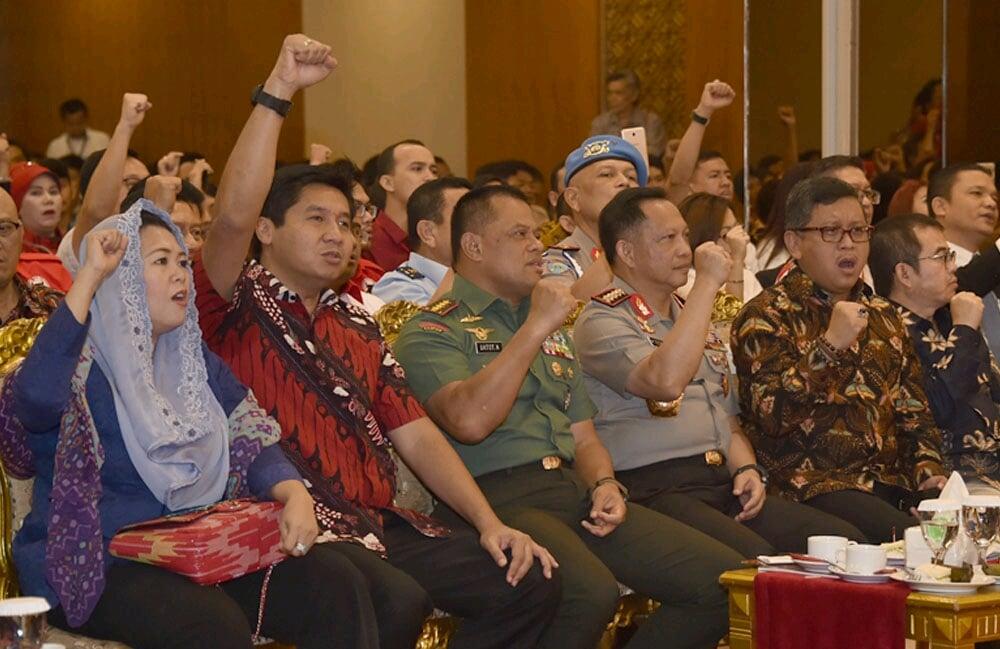 Panglima TNI : Generasi MudaHarus MenjadiPelopor Implementasi Nilai-Nilai Pancasila
