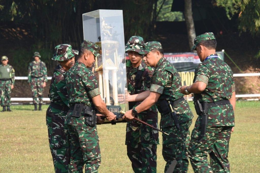 Lomba Tembak Piala Kasad Wadah Lahirnya Jago Tembak TNI AD