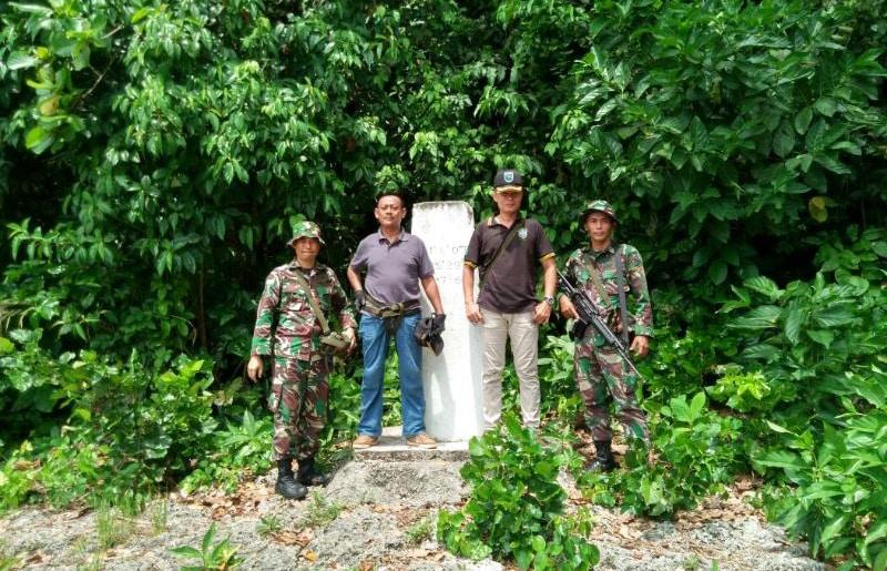 Tegakkan Kedaulatan Wilayah Indonesia Dengan Cek Patok Batas RI-PNG.
