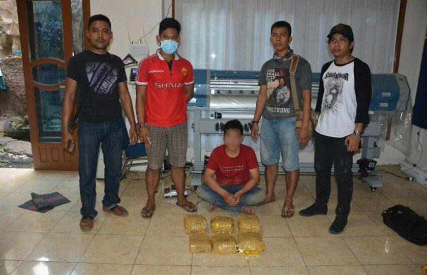 53,32 Kilogram Sabu-sabu Diamankan Satgas Pamtas TNI