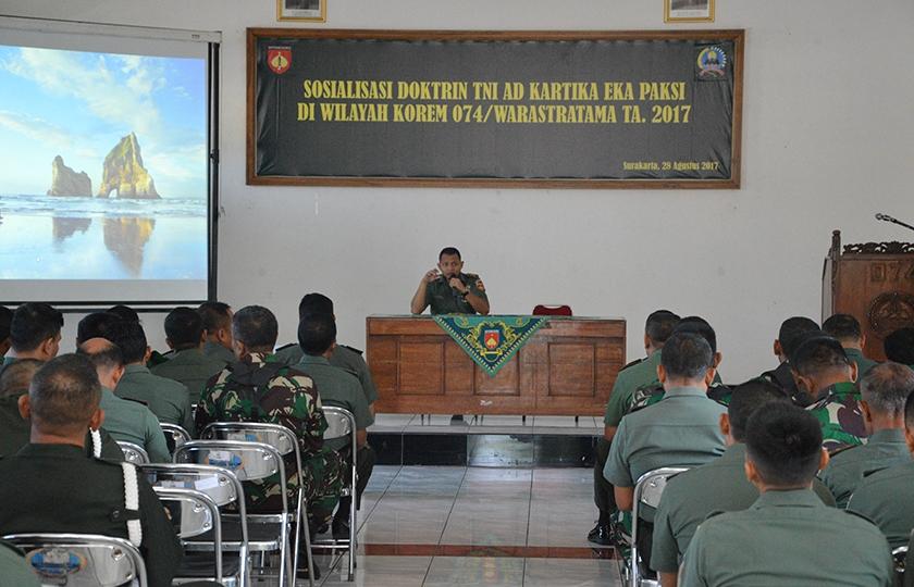 Hakikat Doktrin Kartika Eka Paksi Merupakan Penegasan Dan Penguatan Cita-cita Perjuangan Tanpa Akhir TNI AD