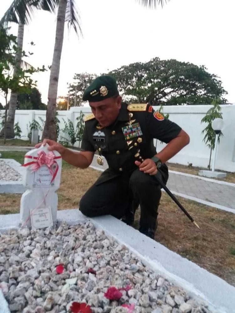 Pangkostrad : TNI Tidak Pernah Melupakan Pahlawan Seroja